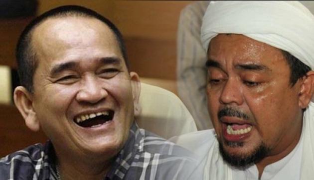 Ruhut Sitompul dan Habib Rizieq
