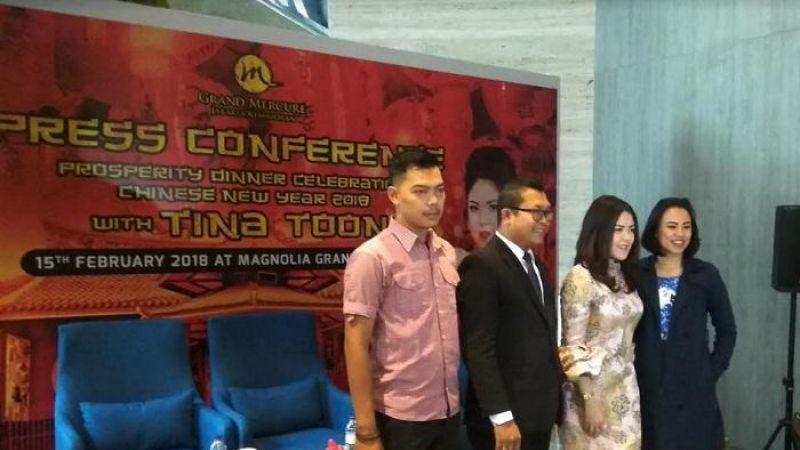 Perayaan Imlek Bersama Tina Toon di Hotel Grand Mercure Jakarta Kemayoran