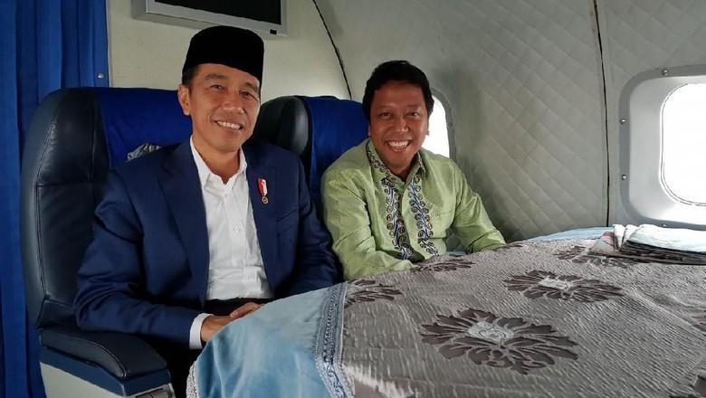 Ketua Ppp Photo: Ketum PPP Romi Satu Pesawat Dengan Presiden, Sinyal Jadi