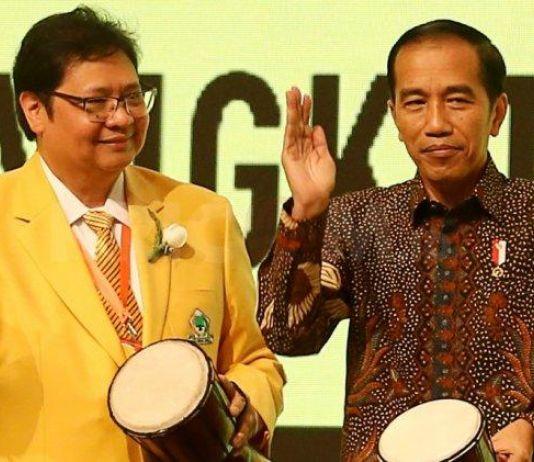 Ketum Golkar Sebut Presiden Jokowi Tak Perlu Cuti saat Pilpres 2019