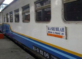 Pt kai operates sribilah premium train for medan rantauprapat route reheart Choice Image