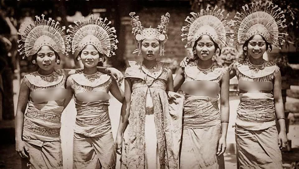 44 Contoh Baju Adat Bali Tempo Dulu Paling Hist