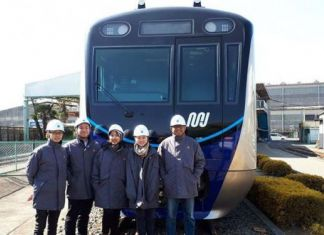 Twelve Mrt Jakarta Trains Arrive At Tanjung Priok Port From Japan