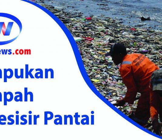 Tumpukan Sampah di Pesisir Pantai