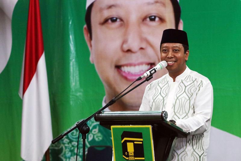 Romahurmuziy: Romahurmuziy Minta Kader PPP Bersihkan Stigma Komunis Jokowi