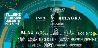 SHVR GROUND FESTIVAL 2018 Umumkan Lineup Lengkap untuk 2 Hari Festival