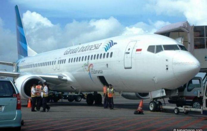Inaugural flight of garuda indonesia from mumbai is successful stopboris Choice Image