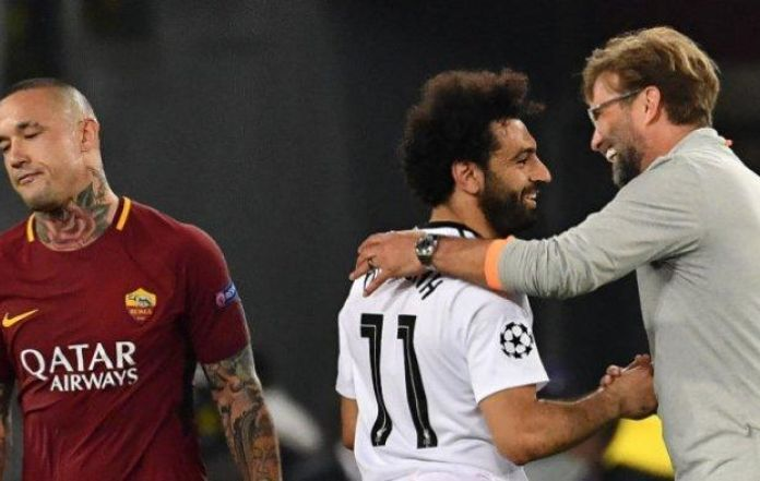 online store cf573 3306f Despite Disappointment, Roma Wishes Success for Salah in the ...