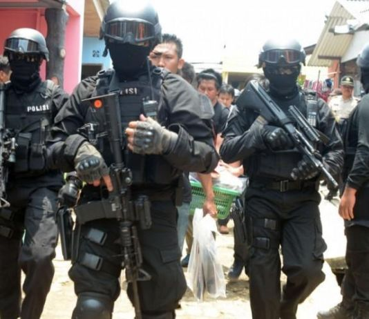 Pasca Teror Bom Gereja di Surabaya, Tim Densus 88 Amankan 74 Terduga Teroris