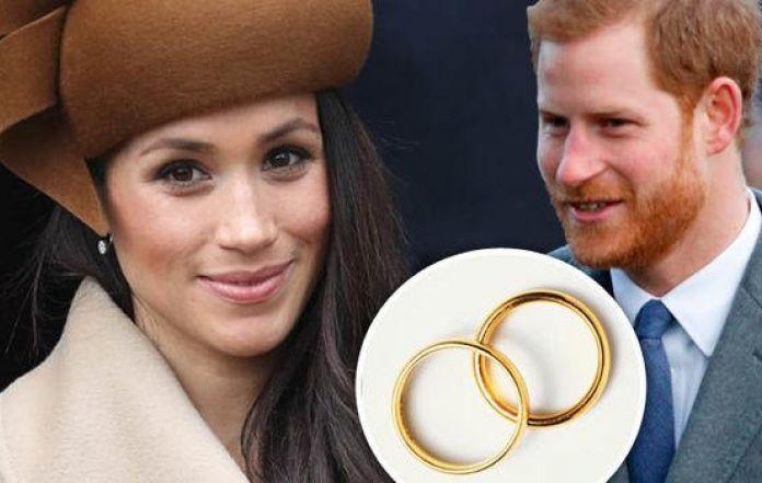 Meghan Markle Wedding Ring.Rare Highly Valuable Wedding Rings Of Meghan Markle And Prince Harry