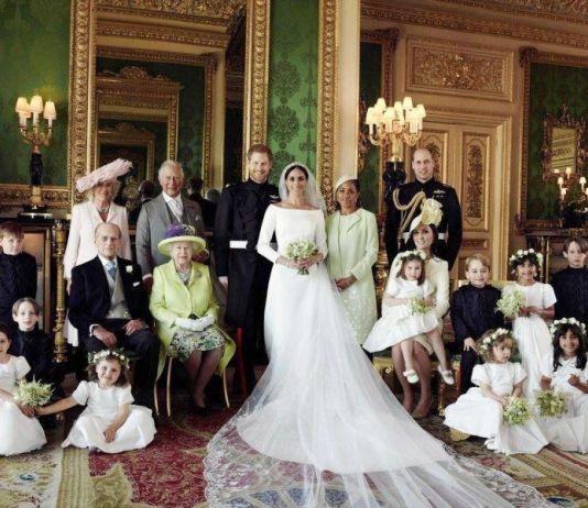 Ini Foto Keluarga Kerajaan Inggris Bersama Pangeran Harry dan Meghan