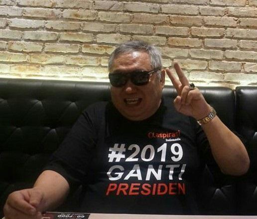 Selain Dukung 2019 Ganti Presiden, Lieus Buat Hastag '2019