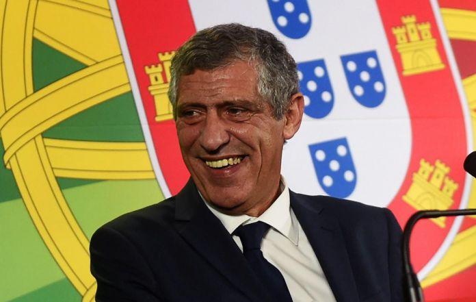 santos trainer portugal