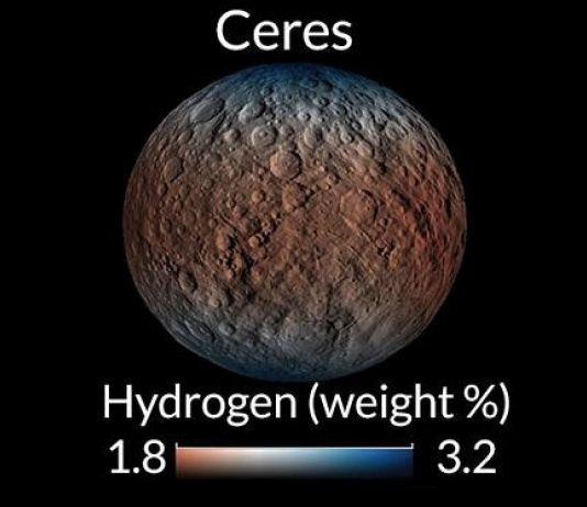 Planet Kerdil Ceres Dinilai Cocok Dukung Kehidupan