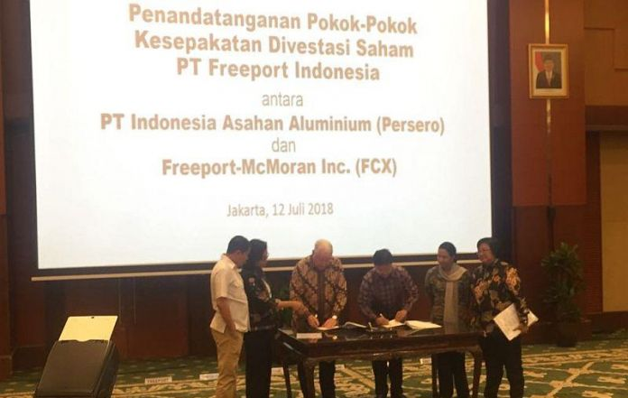Govt Officially Takes Over 51 Percent Stakes Of Freeport Indonesia