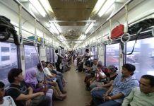 Transaksi Commuterline Sementara Gunakan Tiket Kertas