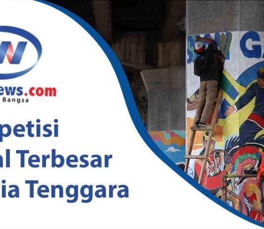 Kompetisi Mural Terbesar di Asia Tenggara