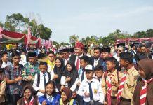 Pimpin HUT ke-73 RI di Bengkulu, Mendes Ajak Seluruh Elemen Bangun Desa