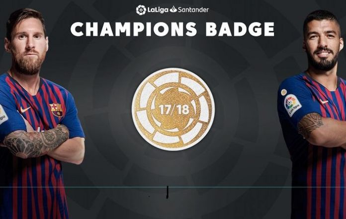 98a1c7dc9da LaLiga Champion Badge to be Pinned on Barcelona Jersey