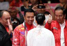 Sabet Emas, Presiden Sebut Lindswell Ratu Wushu Asia