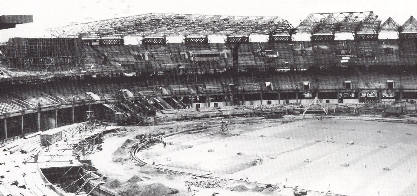 Pembangunan Stadion Gelora Bung Karno   Sumber: NetralNews