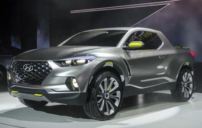 hyundai santa cruz pickup set to launch in 2020. Black Bedroom Furniture Sets. Home Design Ideas