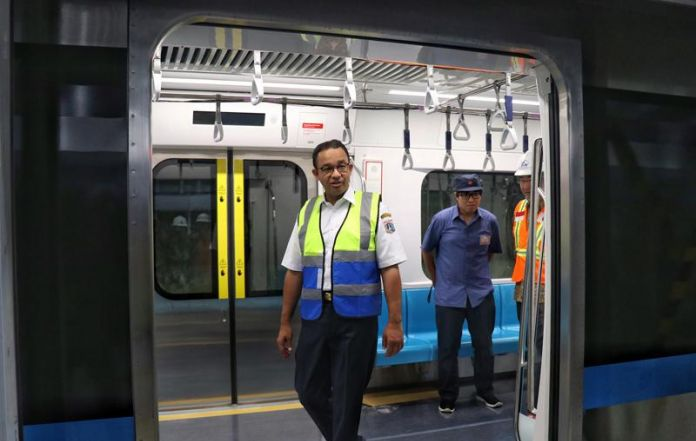 After Finishing Jakarta Mrt Trial Test Here Is Gov Anies Reaction