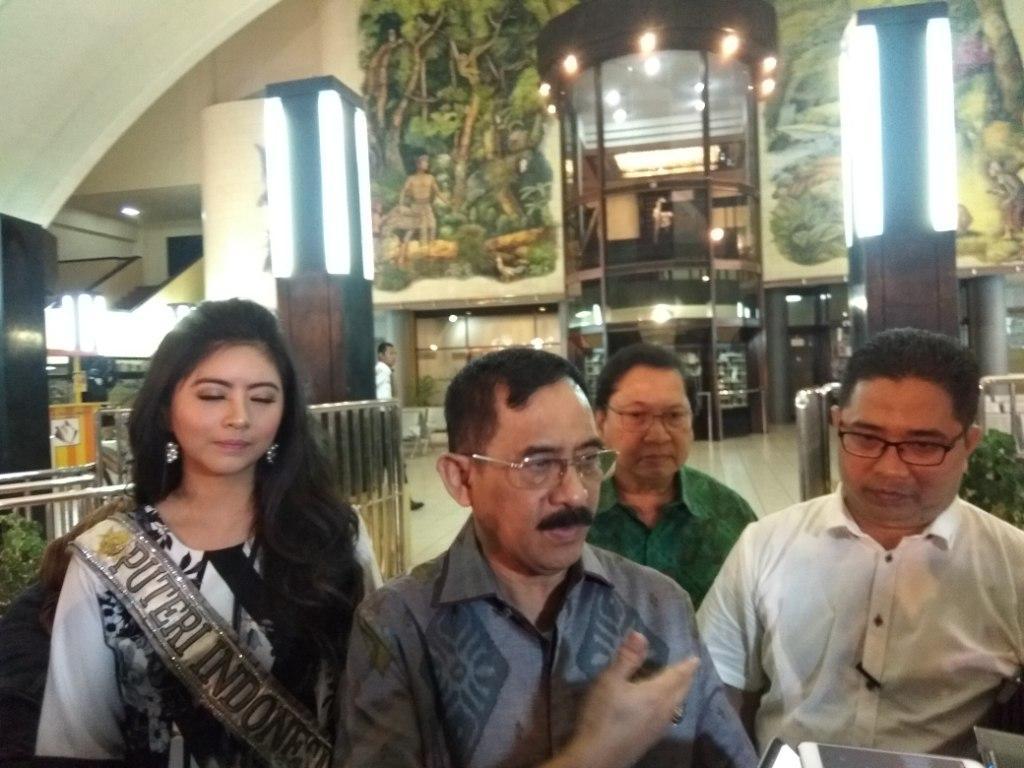 Manager Theater IMAX Keong Emas Ery Subada.