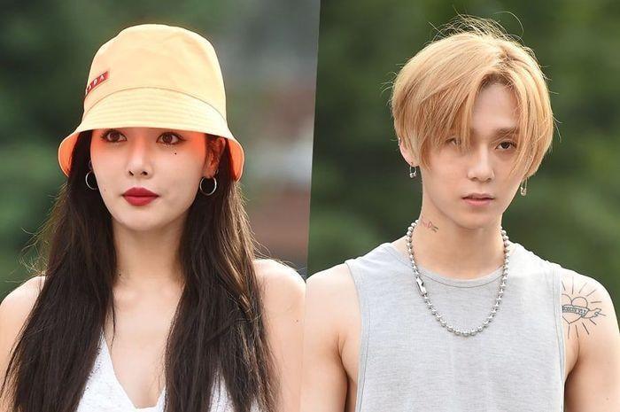 Agensi Cube Entertainment mengeluarkan dua musisi asuhannya, HyunA dan E'Dawn.