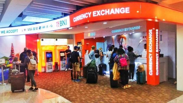 Tempat untuk memperdagangkan uang asing