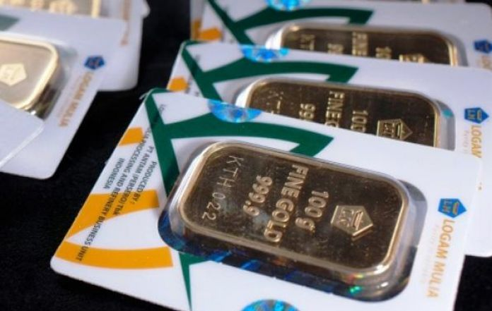 Antam Gold Reach Idr 673000 Per Gram This Morning