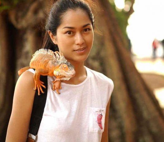 Promosi Film Indonesia, Prisilia Nasution Lakukan Ini