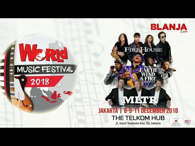 World Music Festival 2018, Festival Musik Lintas-Genre dan Generasi