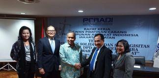 Peradi RBA Jaksel Tingkatkan Soliditas Advokat Melalui Rakercab Perdana