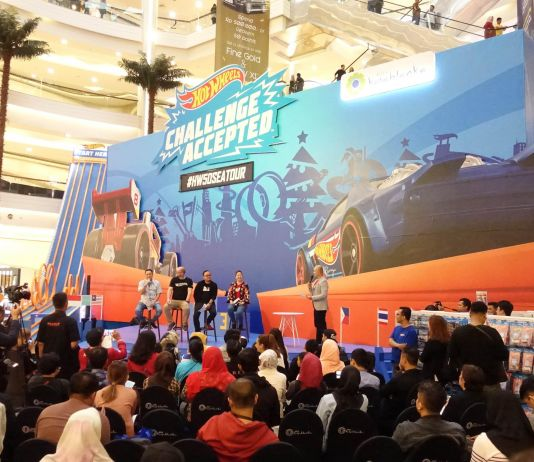 Kota Kosablanka Gelar Kompetisi Hot Wheels dan Tebar Diskon Akhir Tahun
