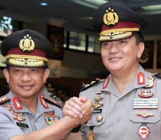 Kapolri Naikkan Pangkat 10 Perwira Tinggi Polri