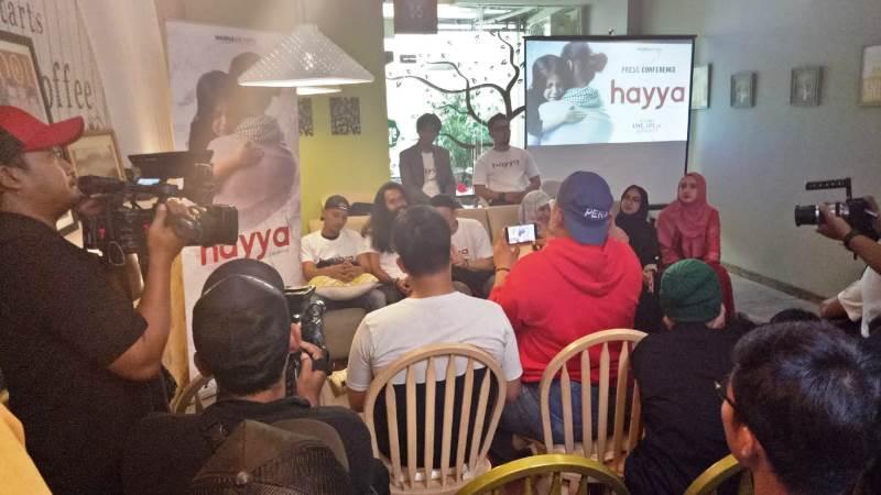 Konferensi Pers Film Hayya