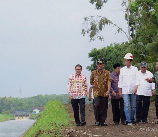Pemerintah Targetkan Perbaiki Irigasi Primer 3 Juta Hektar