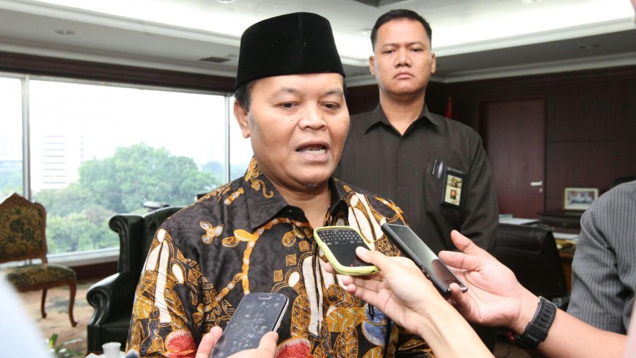 Wakil Ketua Majelis Permusyawaratan Rakyat(MPR) Hidayat Nur Wahid