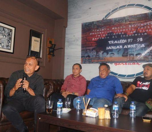 Ingatkan Kasus 97-98 dan Rezim Orba, Aktivis: Prabowo Capres, Saya Ogah Golput!