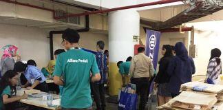 Allianz Indonesia Lakukan CSR Program Bank Sampah Gusling