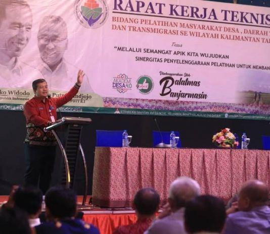 Cegah Narkoba, Staf Balai di Kemendes Bakal Dilatih BNN