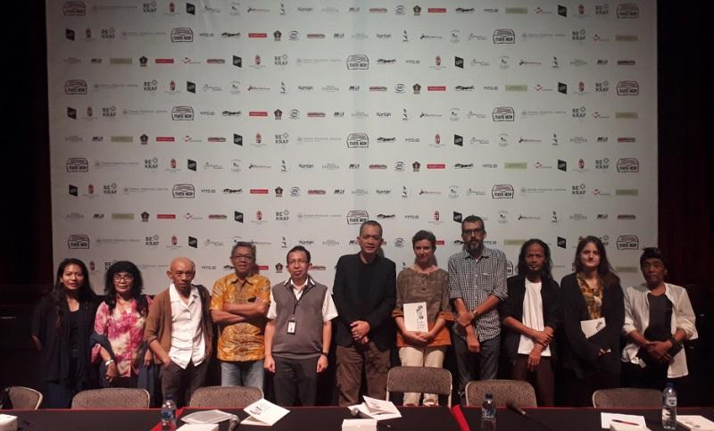Konferensi pers Teater Arsip 2019