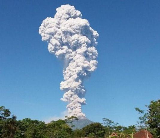 Erupsi, Begini Keadaan Gunung Bromo, Gunung Agung dan Gunung Merapi