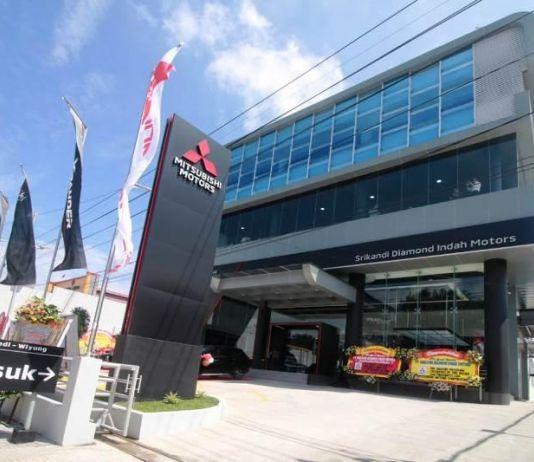 Ini Fasilitas Diler Mitsubishi ke-129 di Surabaya