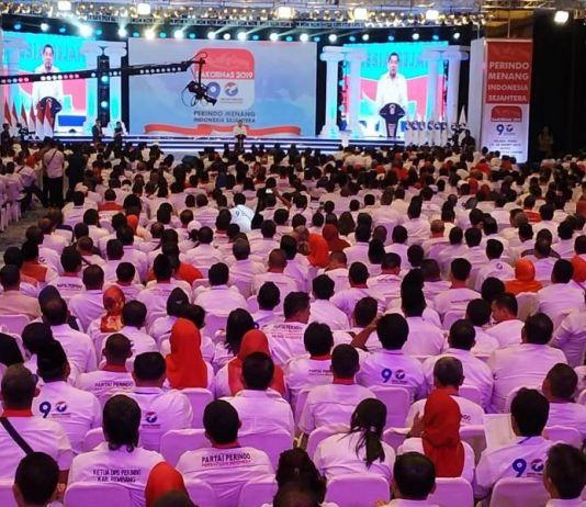 Di Hadapan Jokowi, Hary Tanoe Ungkap Visi Misi Khusus Perindo