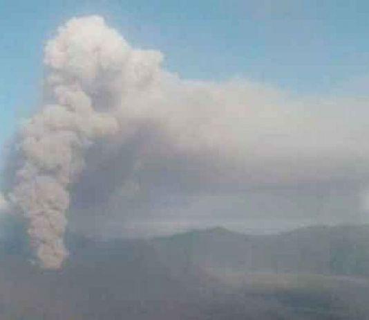 Hujan Abu Vulkanik Gunung Bromo Guyur Desa Argosari di Lumajang