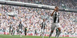 Selebrasi Gol Sambil Mengejek, Ronaldo Kena Denda Rp321 Juta