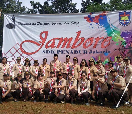 Jambore Pramuka Penggalang SDK PENABUR Bentuk Karakter 'BEST'
