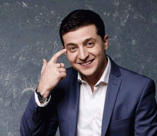 Vladimir Zelensky, dari Pelawak Jadi Presiden Ukraina